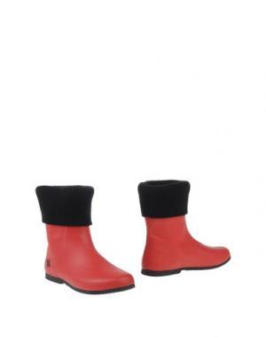 Полусапоги и высокие ботинки BUTTERFLY TWISTS. Цвет: красный