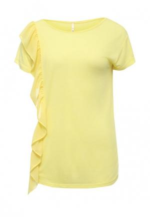 Футболка Baon. Цвет: желтый