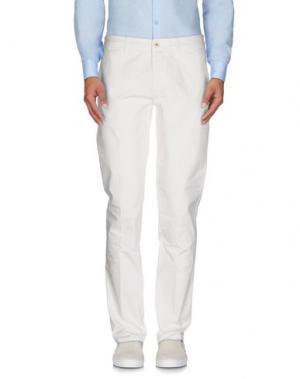Повседневные брюки RE.BELL. Цвет: белый