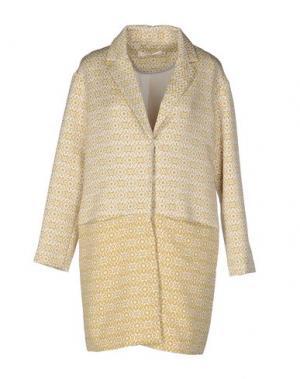 Легкое пальто NICE THINGS BY PALOMA S.. Цвет: охра