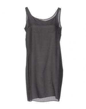 Короткое платье BP STUDIO. Цвет: серый