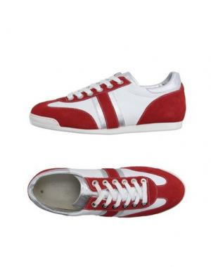 Низкие кеды и кроссовки SETTANTATRE LR. Цвет: красный