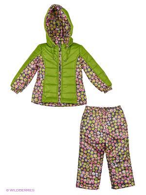 Комплект одежды SAIMA. Цвет: серый, розовый