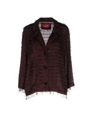 Пиджак F.R.S.. Цвет: красно-коричневый