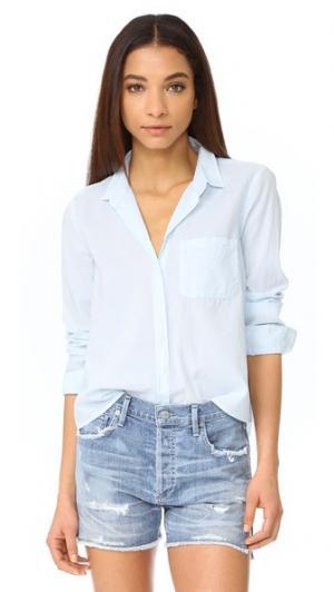 Рубашка на пуговицах Easton XIRENA. Цвет: аква дымчатый