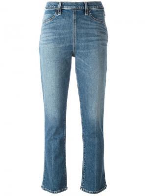 Расклешенные джинсы Elizabeth And James. Цвет: синий