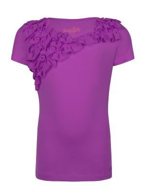 Футболка, Tia, цвет фиолетовый (Purple Heart) SUPERTRASH. Цвет: фиолетовый