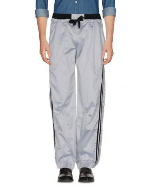 Повседневные брюки MEETING. Цвет: серый