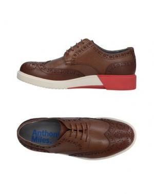 Обувь на шнурках ANTHONY MILES. Цвет: верблюжий