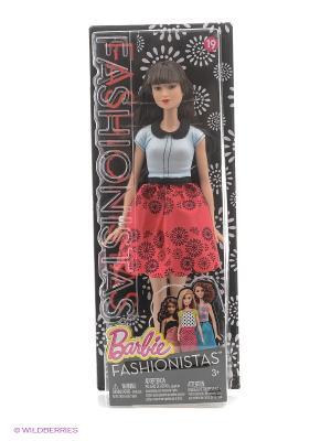 Кукла из серии Игра с модой Barbie. Цвет: красный, белый, черный