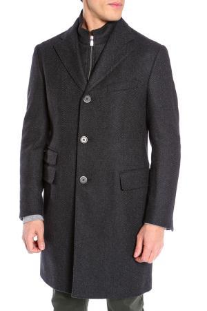 Пальто Corneliani. Цвет: серый