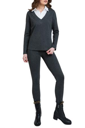 Jeggings Conquista. Цвет: anthracite