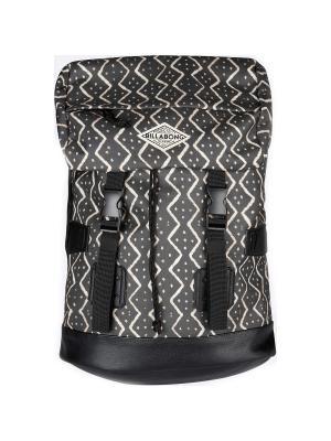 Рюкзак TRACK GIRL (FW17) BILLABONG. Цвет: черный, молочный
