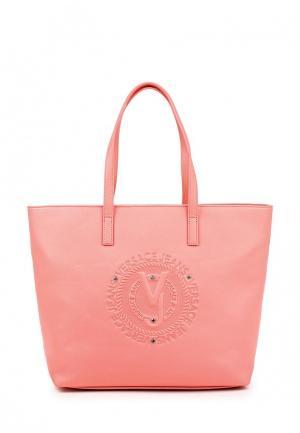 Сумка Versace Jeans. Цвет: розовый