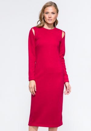 Платье YuliaSway Yulia'Sway. Цвет: розовый