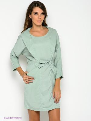 Платье Formalab. Цвет: светло-зеленый