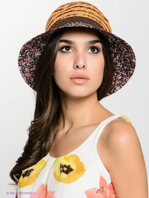 Шляпа FOMAS. Цвет: темно-синий, оранжевый, розовый