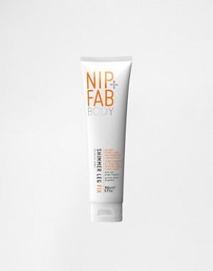 Nip+Fab Крем для ног с блеском Leg Fix. Цвет: бесцветный