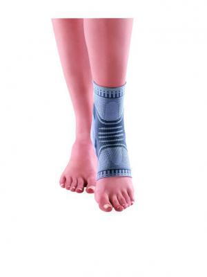 Бандаж голеностопный с силиконовыми пелотами OppO Medical Inc.. Цвет: серый
