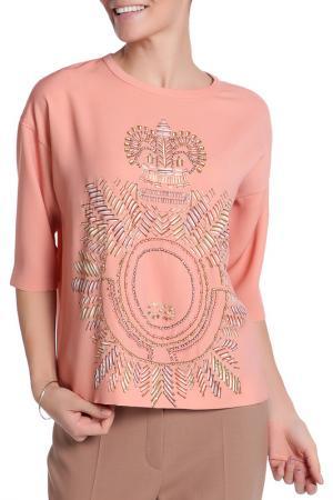 Блуза Escada. Цвет: оранжевый