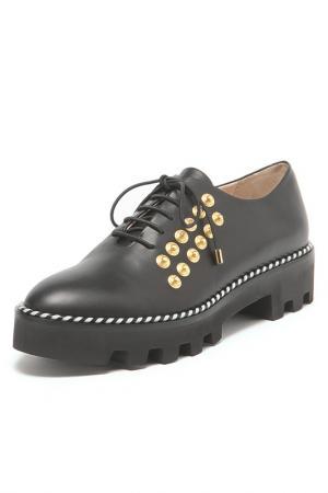 Туфли осенние Giorgio Fabiani. Цвет: черный