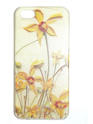 Чехол для Iphone 5/ 5S Punta. Цвет: золотистый, коричневый