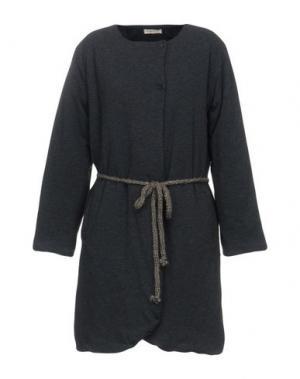 Легкое пальто ESSENCE. Цвет: стальной серый