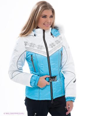 Куртка Sport Vision. Цвет: голубой, белый