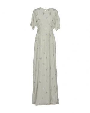 Длинное платье INTROPIA. Цвет: светло-зеленый