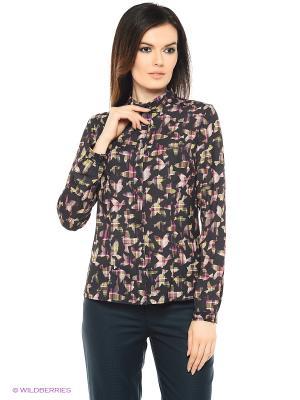 Блузка Falinda. Цвет: черный