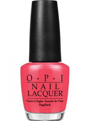 Opi Лак для ногтей CAJUN SHRIMP OPI, 15 мл. Цвет: розовый