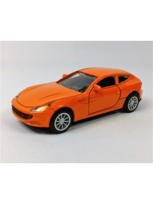 Машинка инерционная Азбука Тойс. Цвет: оранжевый