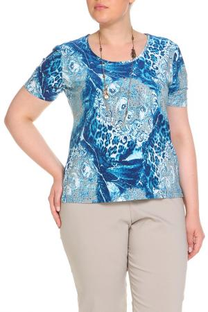 Блуза Анджелина LAVELLE. Цвет: синий