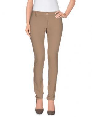 Повседневные брюки SISTE' S. Цвет: верблюжий