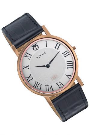 Часы наручные Titan. Цвет: красный
