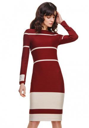 Платье Devita. Цвет: бордовый