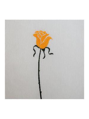 Шторка для ванной Rosas C. Yello ARTI DECO. Цвет: белый