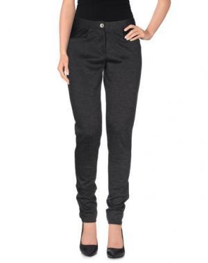 Повседневные брюки MASSANA. Цвет: серый