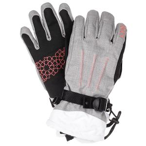 Перчатки женские  Big Bear Gloves Heritage Heather Roxy. Цвет: черный,серый,белый