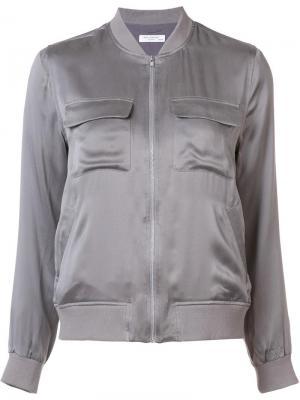Куртка-бомбер Abbot Equipment. Цвет: серый