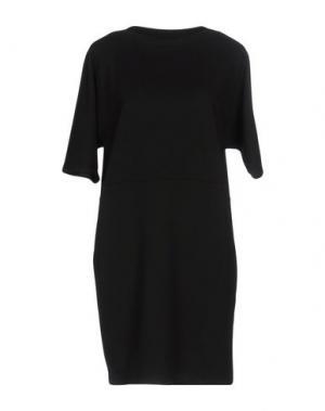 Короткое платье EMPATHIE. Цвет: черный