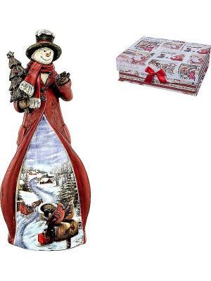 Статуэтка Mister Christmas. Цвет: красный
