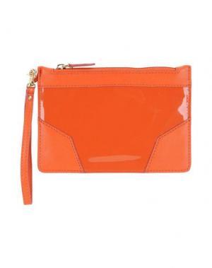 Косметичка PINKO. Цвет: оранжевый