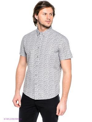 Рубашка Finn Flare. Цвет: светло-серый