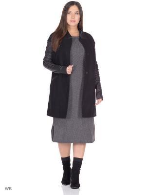 Пальто SARTORI DODICI. Цвет: серый