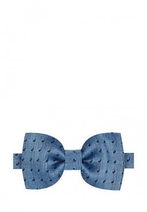 Бабочка Colletto Bianco. Цвет: голубой