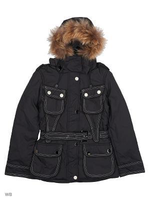 Куртки Arista. Цвет: черный