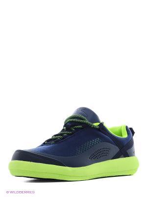 Полуботинки мальчиковые кроссовые Зебра. Цвет: синий