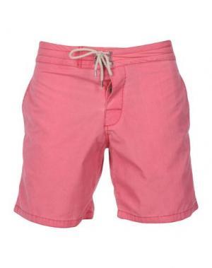 Пляжные брюки и шорты FAHERTY. Цвет: коралловый
