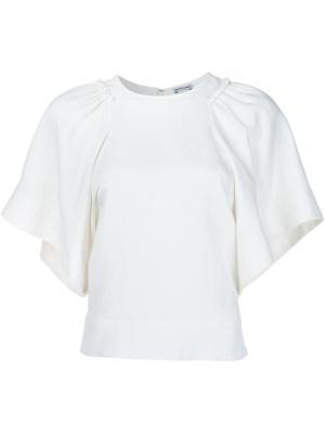 Блузка свободного кроя Rachel Comey. Цвет: белый